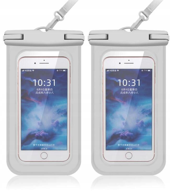 Wodoodporne etui na telefon (2 opakowania)
