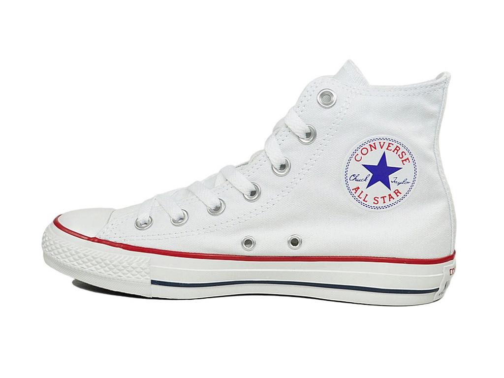 TRAMPKI CONVERSE ALL STAR HI M7650 Białe r.37