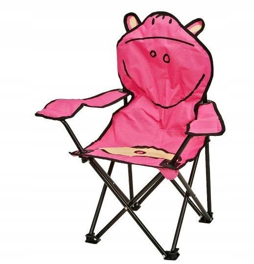 Krzesło krzesełko dzieci składane HIPO 50kg