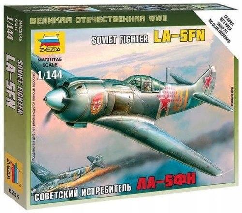 Zvezda 6255 1/144 La-5 Soviet Fighter
