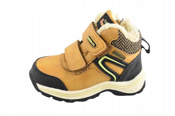 Buty zima Badoxx 8116 r 24 dł 15,5 cm miodowe