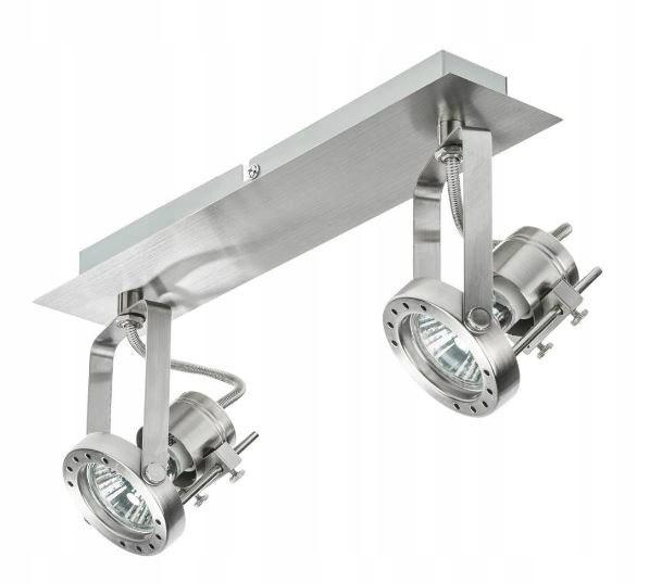 Lampa plafon listwa ROBot 28cm nikiel sufitowa fra