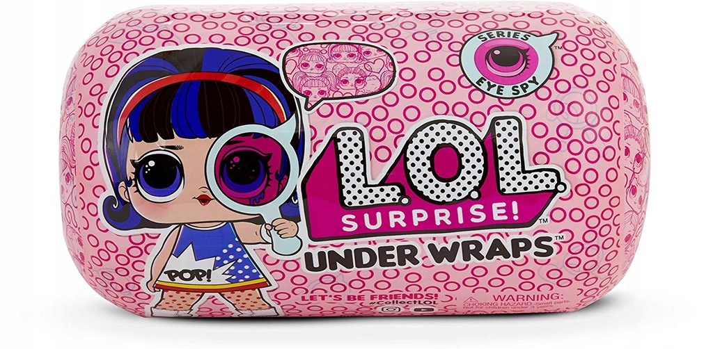 Laleczka L.O.L. Surprise Under Wraps ORYGINALNE!