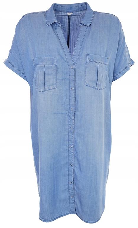 bBH8661 H&M modna tunika na zatrzaski 46