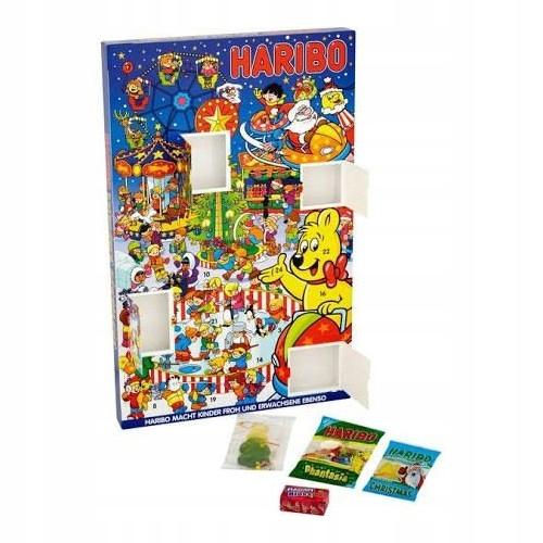 Haribo Kalendarz Adwentowy Z Zelkami 300g 49163 8541232230 Oficjalne Archiwum Allegro