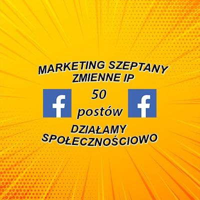 marketing szeptany + social media 25 szt
