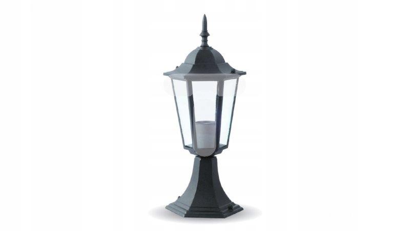 Lampa Ogrodowa Stojąca VT-753 E27 Max. 40W Czarna
