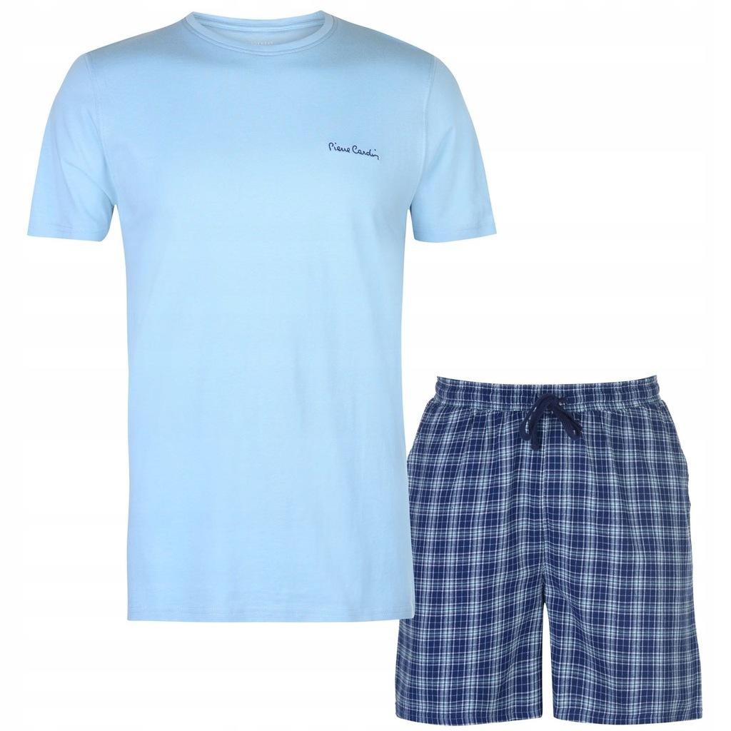 Piżama PIERRE CARDIN bokserki koszulka M 78-92cm