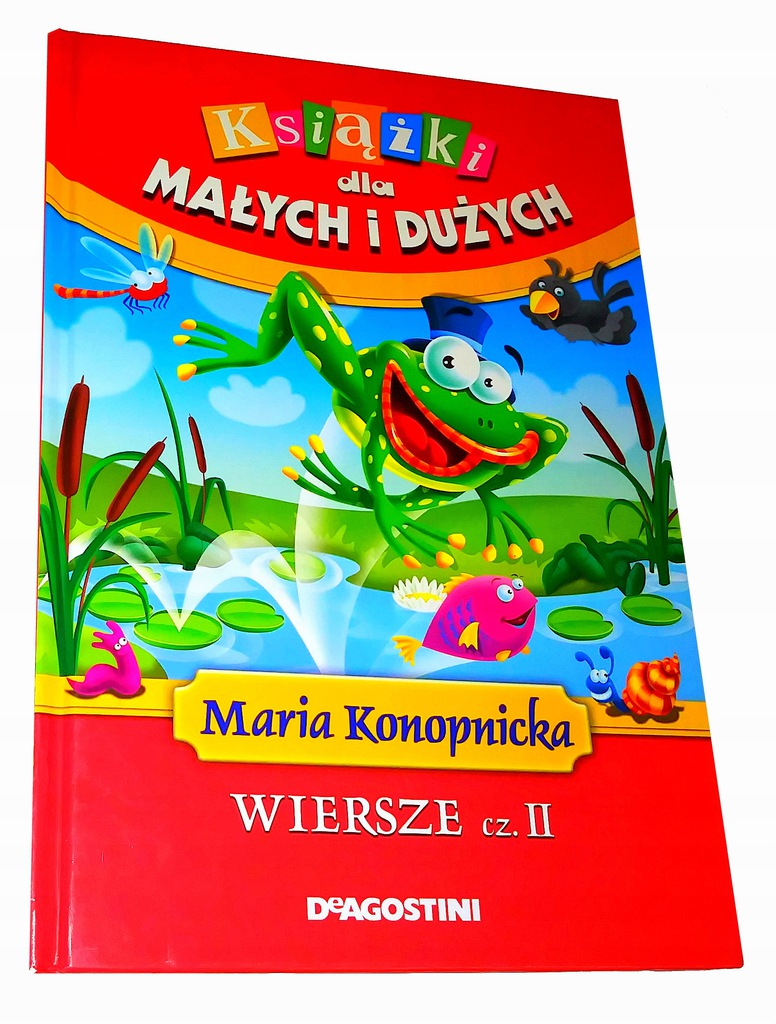 Ksiazki Dla Malych I Duzych Wiersze Ii Konopnicka 8589886740 Oficjalne Archiwum Allegro