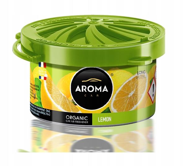 Zapach samochodowy ORGANIC AromaCar LEMON