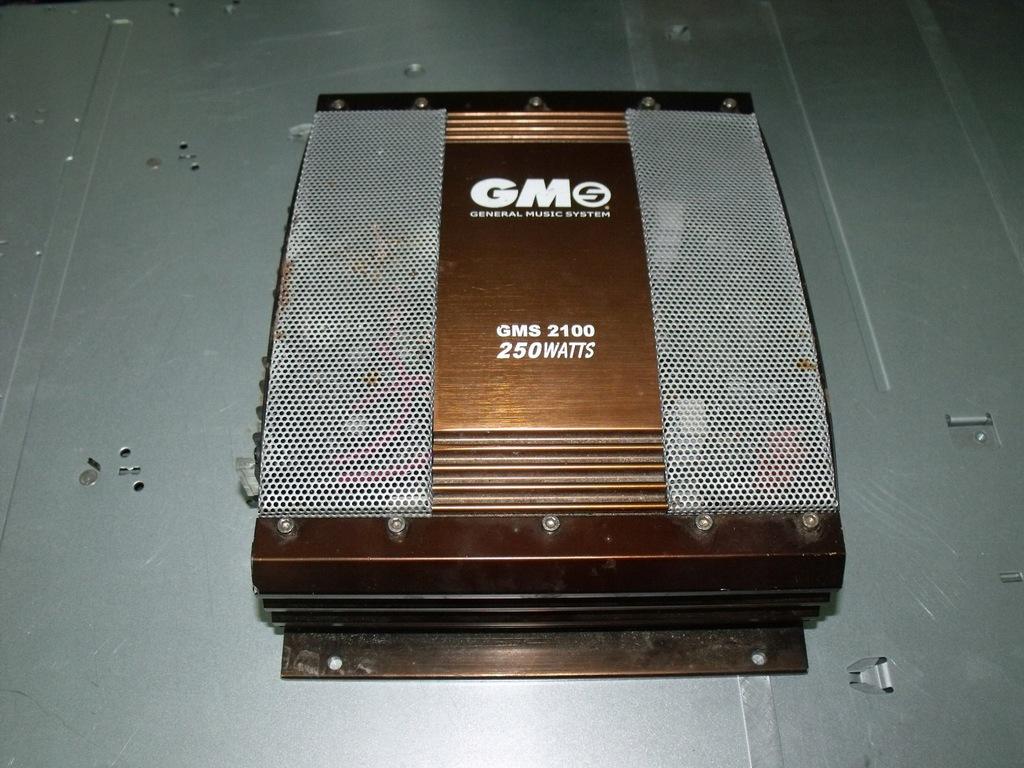 Wzmacniacz Samochodowy GMS 2100