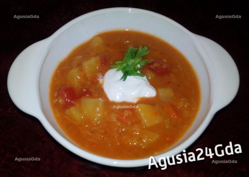 Zupa soczewicowa - przepis