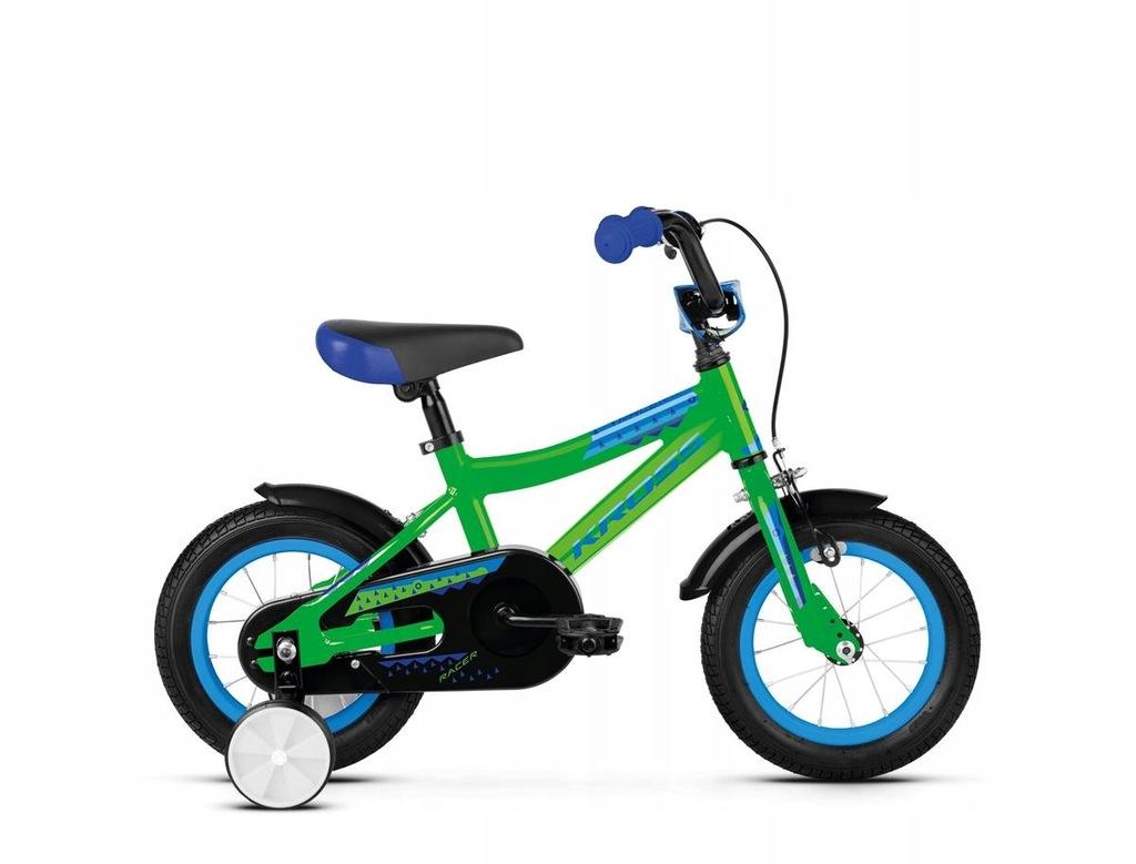 Rowery dziecięce Kross Racer 2.0 Zielony 12 Niebie