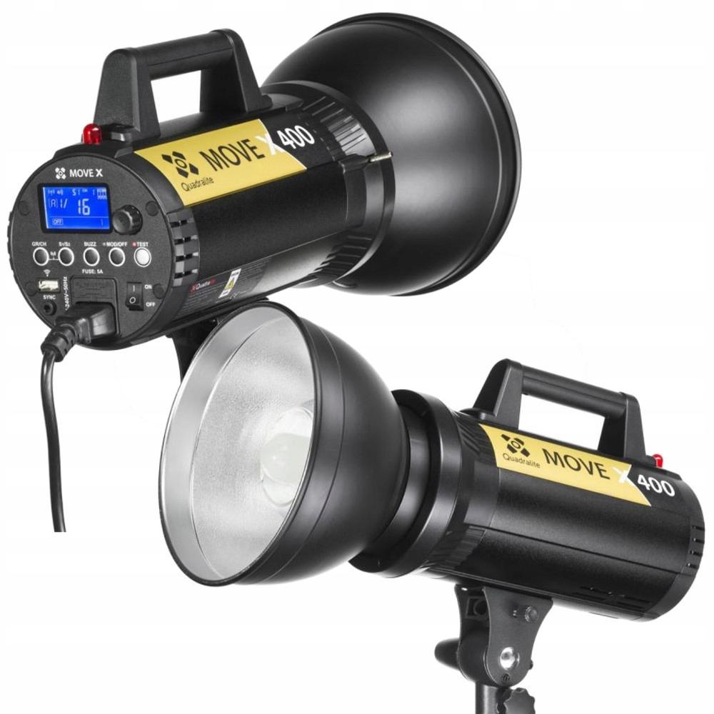 QUADRALITE MOVE X 400 STUDYJNA LAMPA BŁYSKOWA