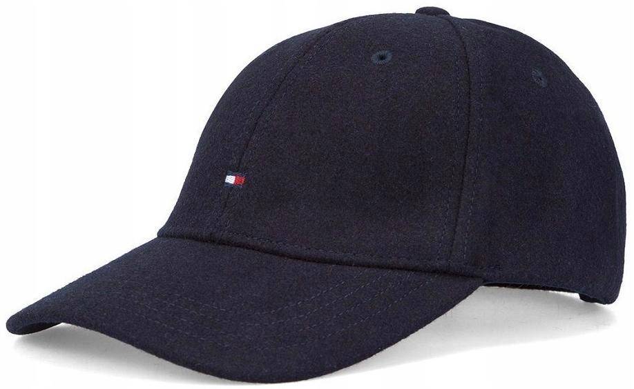 TOMMY HILFIGER MELTON CAP ciepła bejsbolówka męska