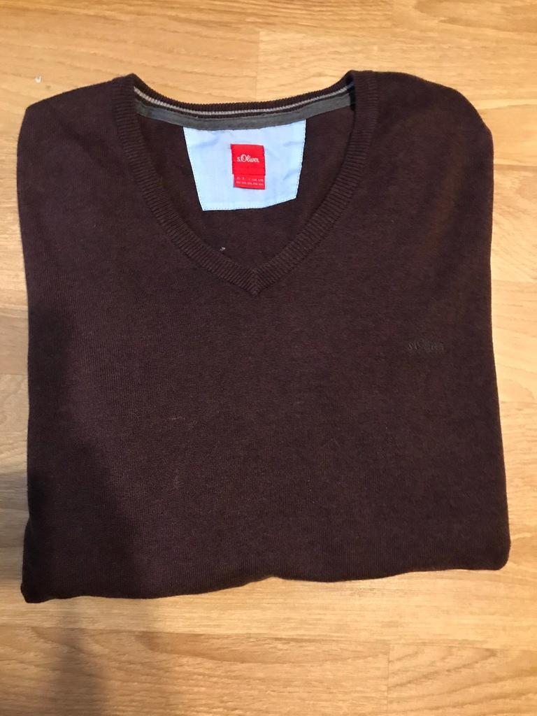 Sweter s. OLIVER XXL brązowy