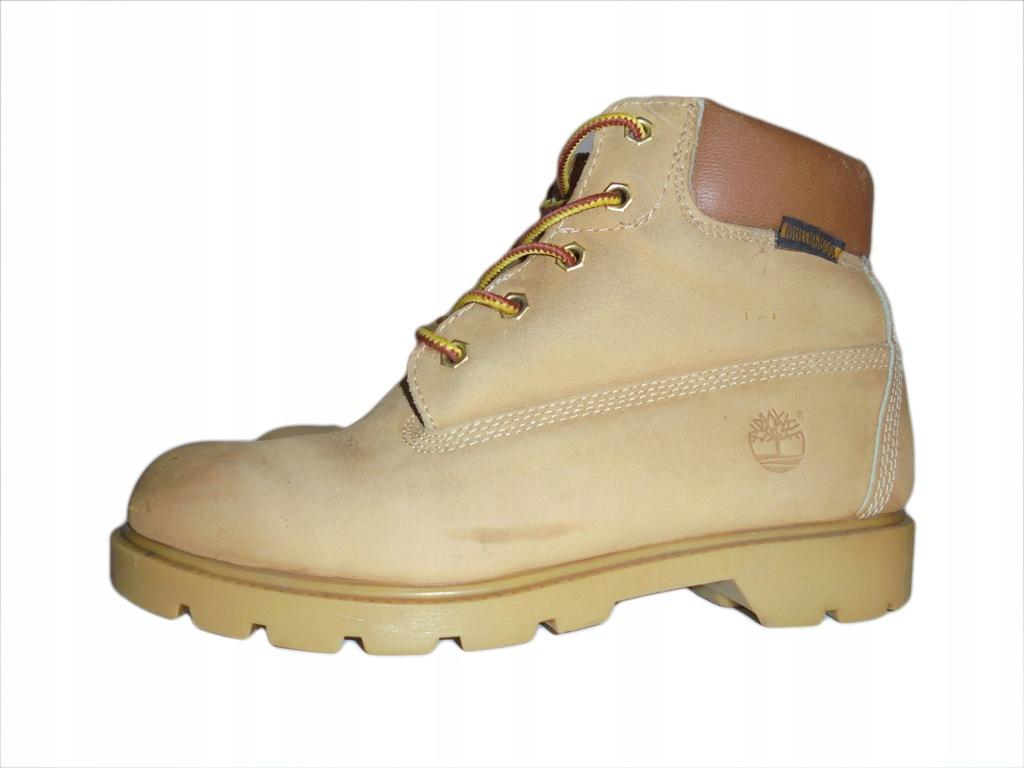 Skórzane buty Timberland Waterproof. Rozmiar 38,5.