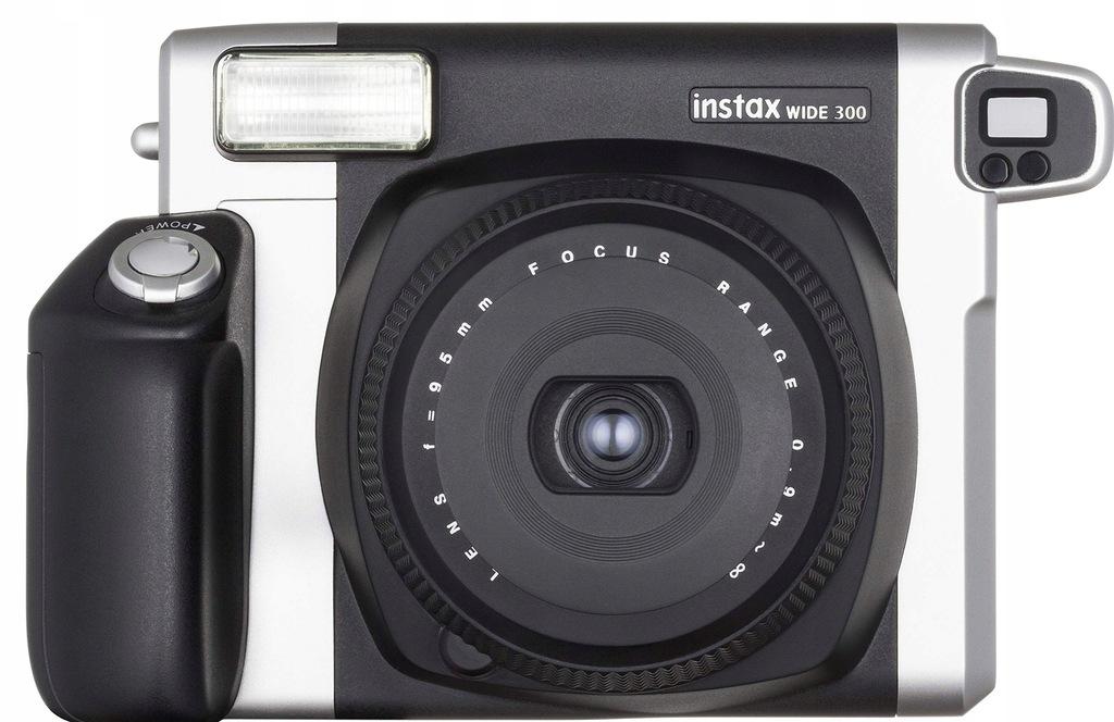 Aparat natychmiastowy Fujifilm Wide 300 czarny
