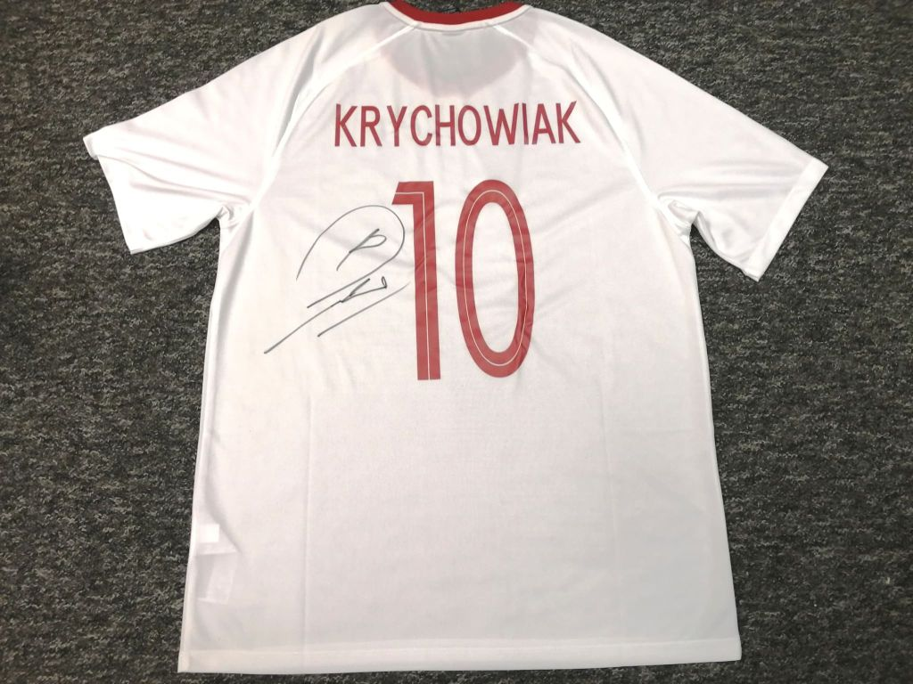Krychowiak - koszulka (POL) z autografem