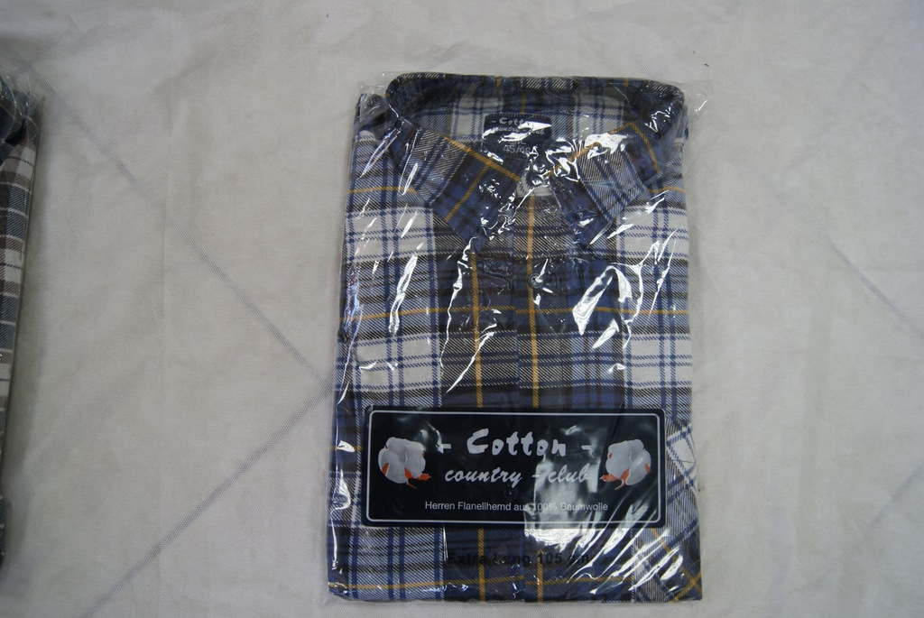 Koszula flanelowa Cotton Club ekstra długa 105 cm  JQybc