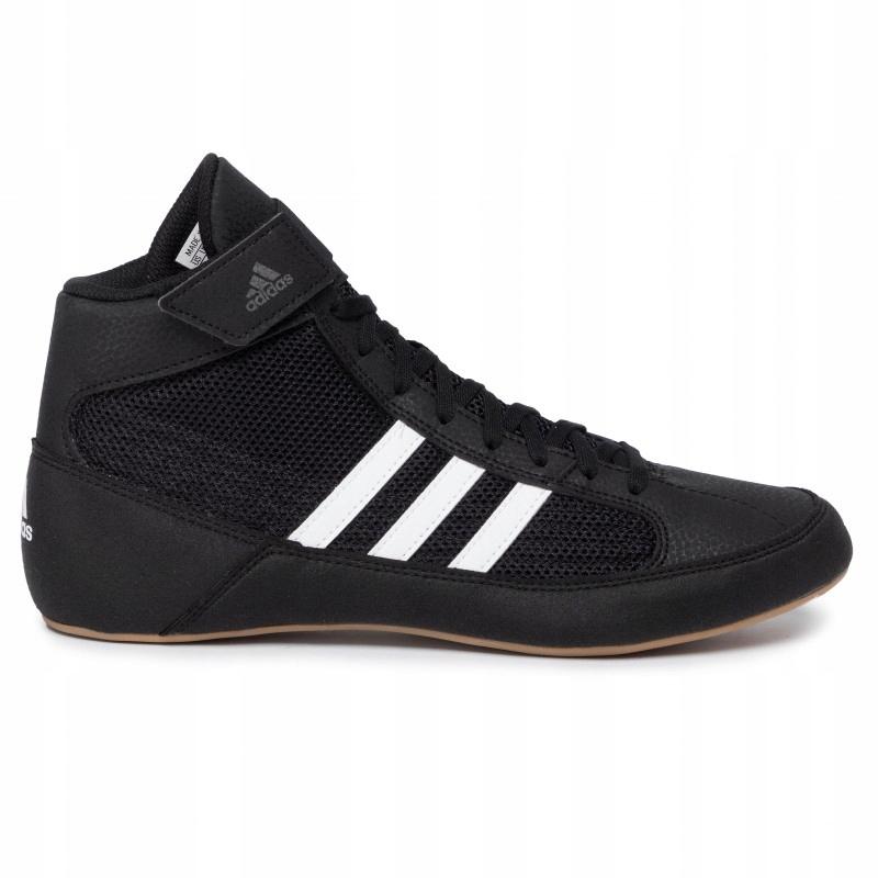 Buty zapaśnicze bokserskie Adidas AQ3325 Czarne