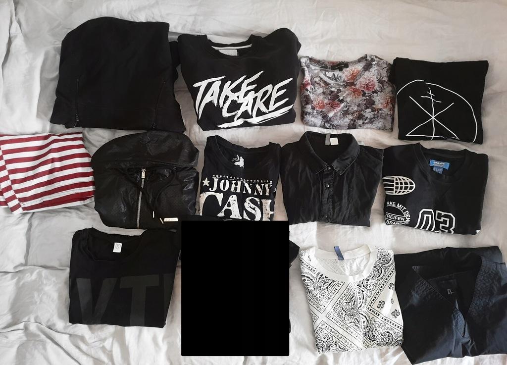 Markowe bluzy oraz koszulki, Komplet