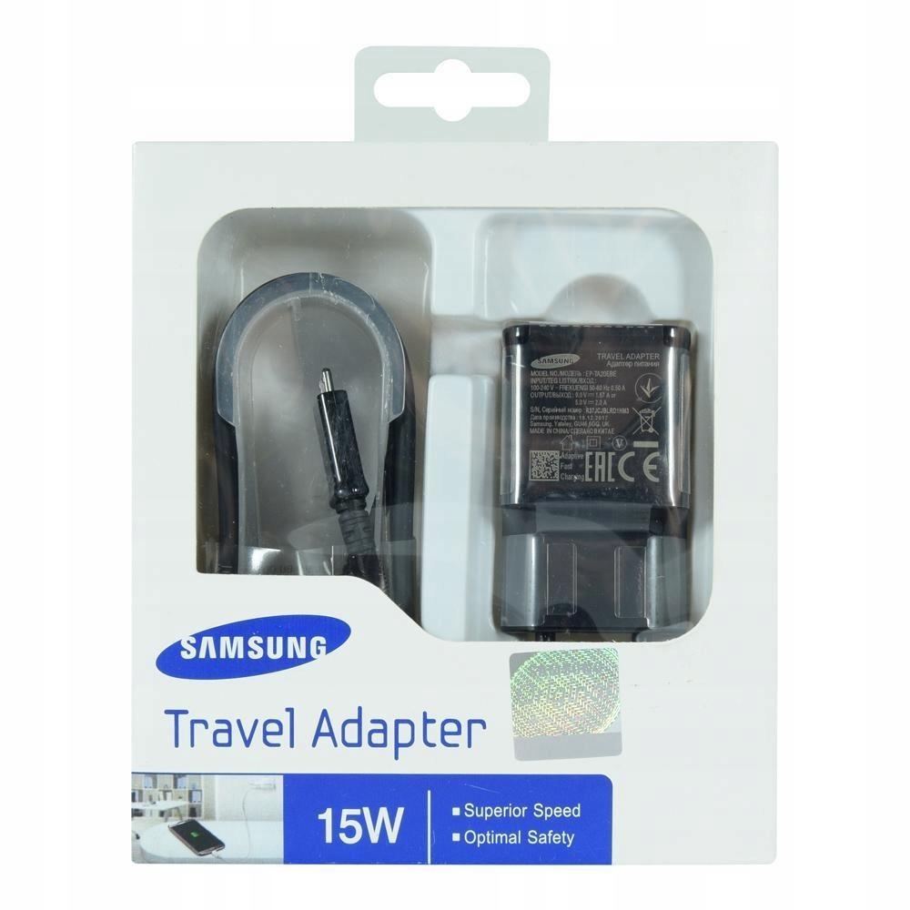Samsung EP-TA20EBE + Micro USB 1,5M Fast Charge BL