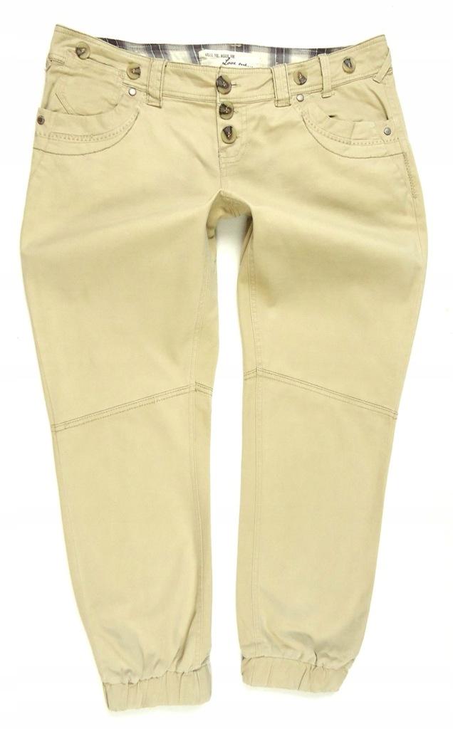 NEW LOOK spodnie materiał alladynki 40/42
