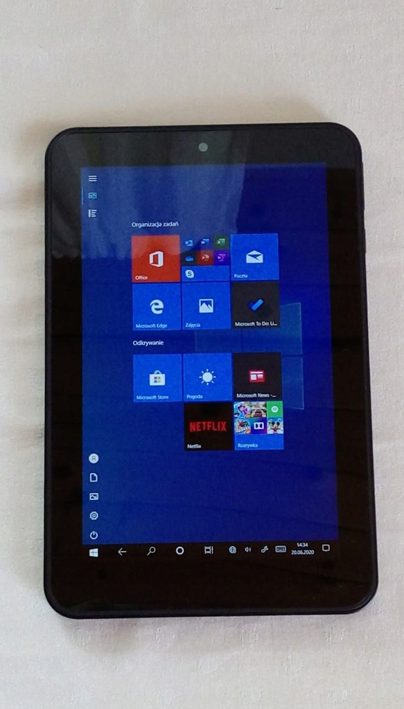 """Tablet HP Pro 408 G1 8 """" 2 GB / 32 GB czarny"""