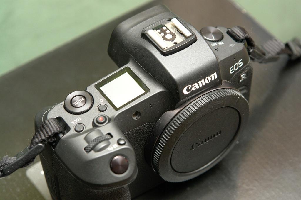 Canon EOS R 24-105L - cały zestaw