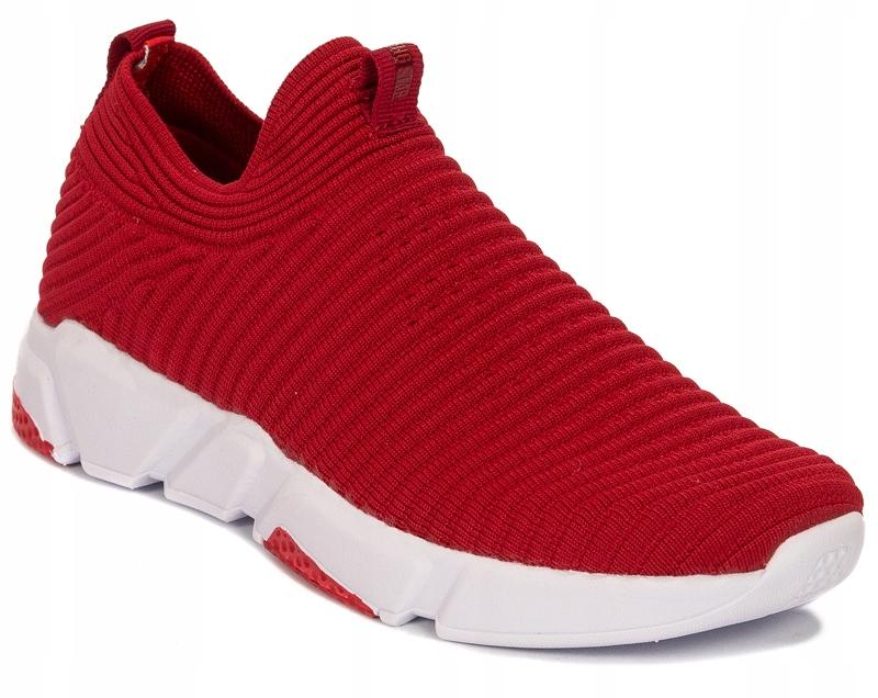 Sneakersy półbuty Big Star r.39 czerwone DD274463