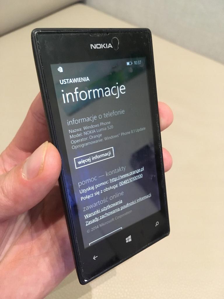 Nokia Lumia 520 8558190304 Oficjalne Archiwum Allegro