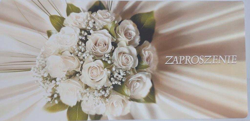Zaproszenie ślubne Ślub Ś10 +koperta
