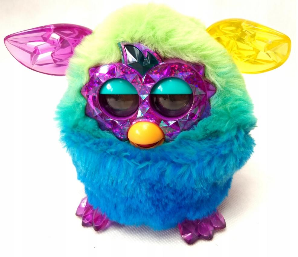 Hasbro Furby Boom Crystal Niebiesko Zielony O36 7828684599 Oficjalne Archiwum Allegro