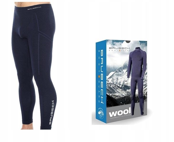 BRUBECK EXTREME WOOL - męskie spodnie termoaktywne
