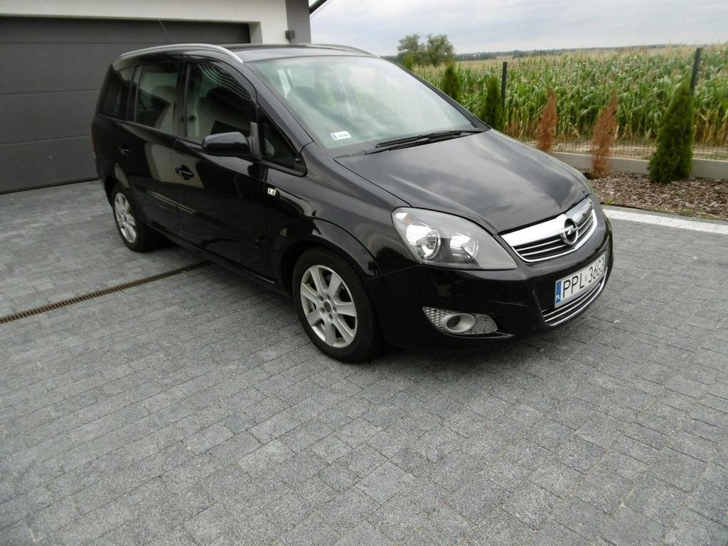 Opel Zafira 7 Osobowy Nawigacja Klima 8387933259 Oficjalne Archiwum Allegro