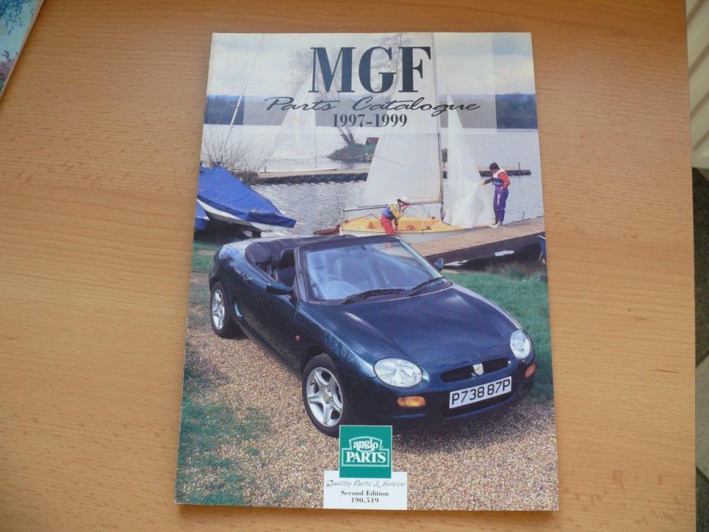 Książka KATALOG MGF 1997-1999