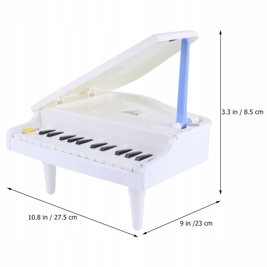 1 szt. Kreatywny model fortepianu Dekoracyjne drew