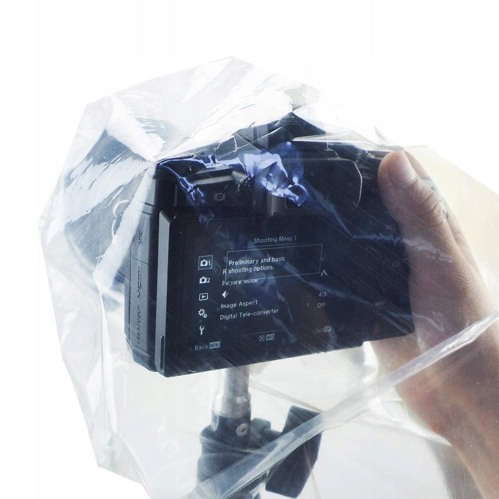Pokrowiec przeciwdeszczowy JJC RI-S na aparat