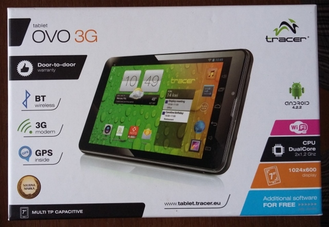 """Tablet Tracer Ovo 3G 7"""""""