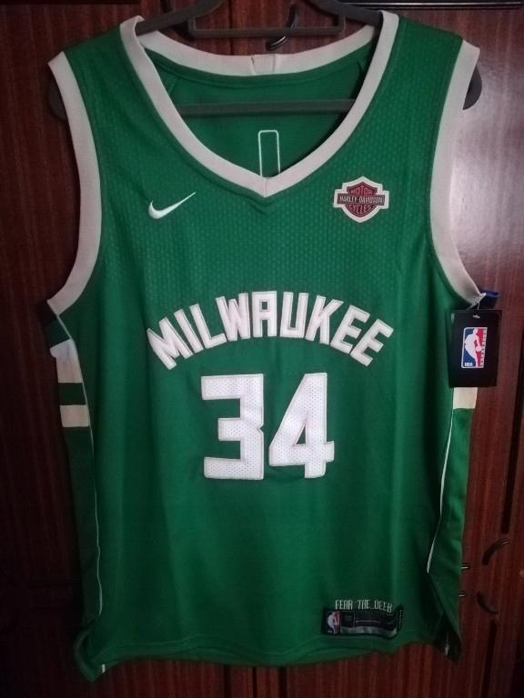 MILWAUKEE BUCKS ANTETOKOUNMPO Koszulka NBA L