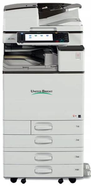OKAZJA NOWY RICOH A3 KOLOR MPC3503 4 kasety 35str