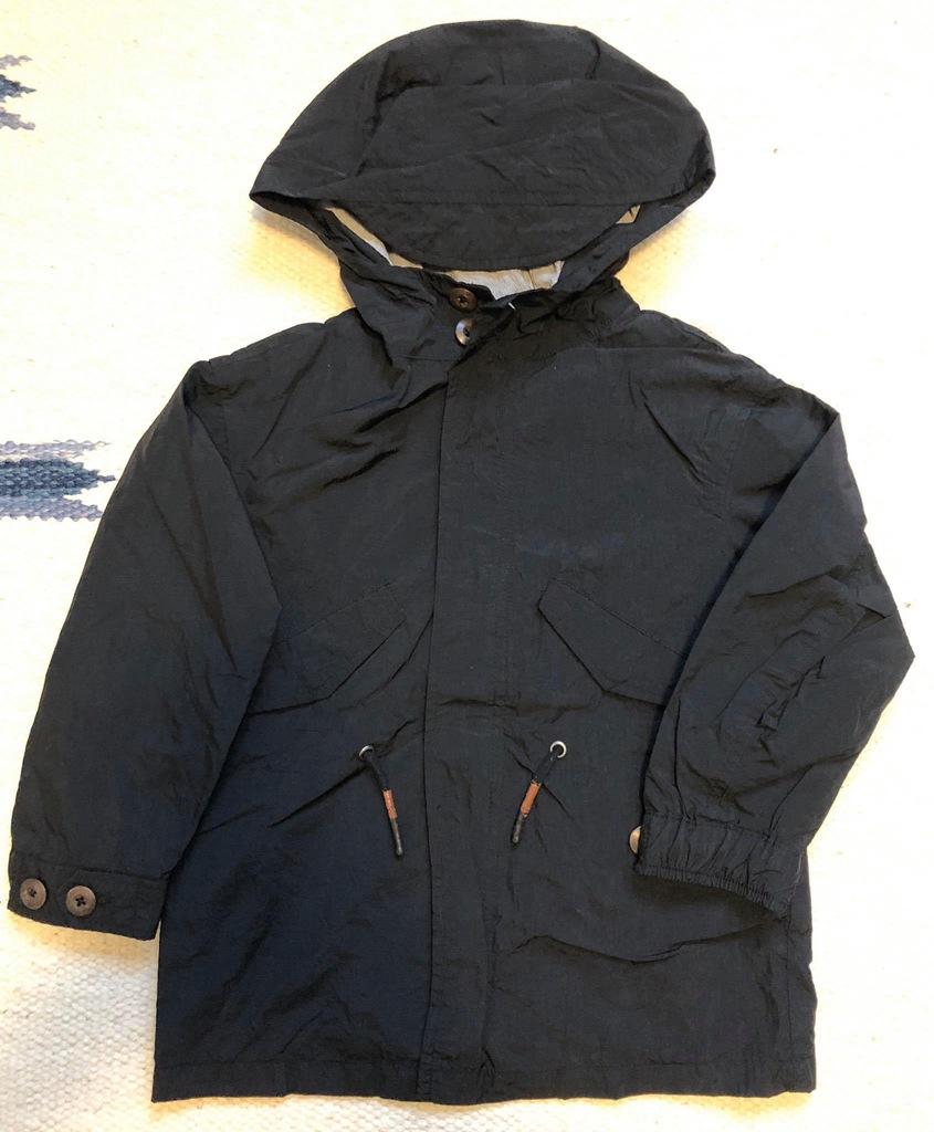 ZARA czarna kurtka wiatrówka 4 lata 104