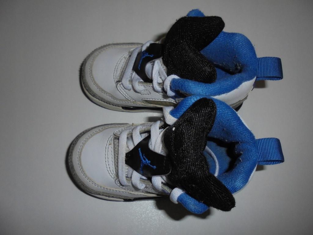 Skórzane buciki Nike Air Jordan. Rozmiar 22.