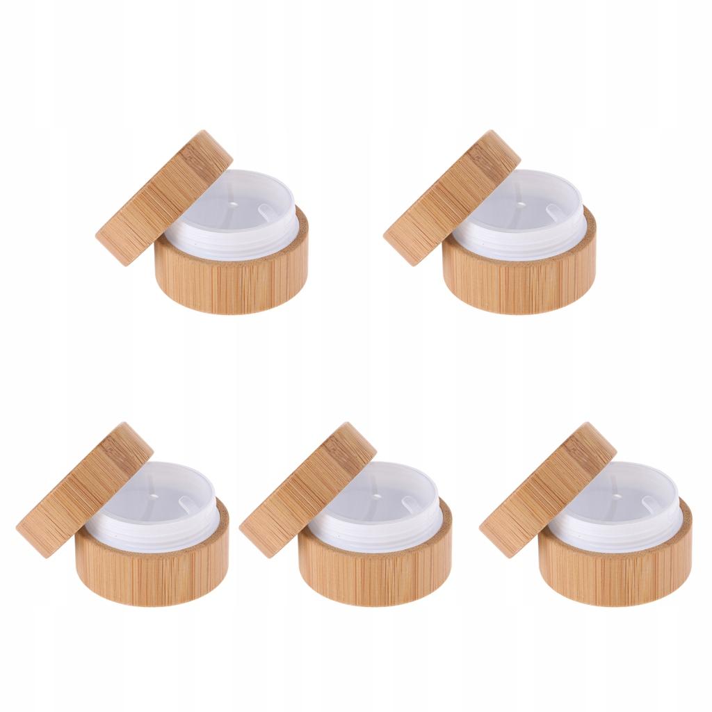 Kosmetyczny pojemnik wielokrotnego użytku Beżowy
