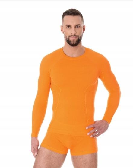 BRUBECK LS12820 koszulka męska ACTIVE WOOL - XXL