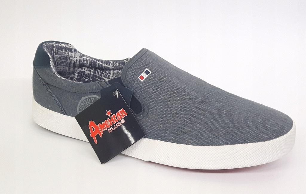 Obuwie * Adidasy wsuwane Przecena American NAVY 45