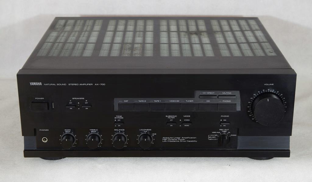 Yamaha Ax 700 Wzmacniacz Uszkodzony 8431584036 Oficjalne Archiwum Allegro