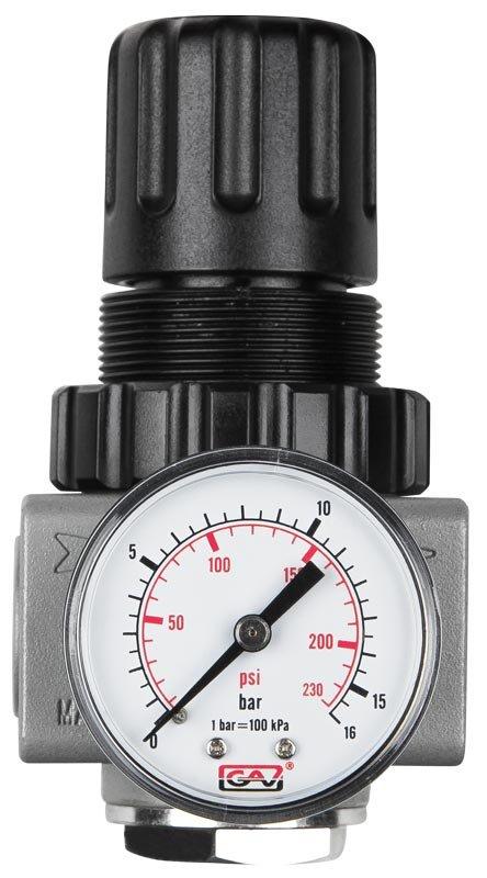 Reduktor ciśnienia do kompresora 1/4'' GAV R-180