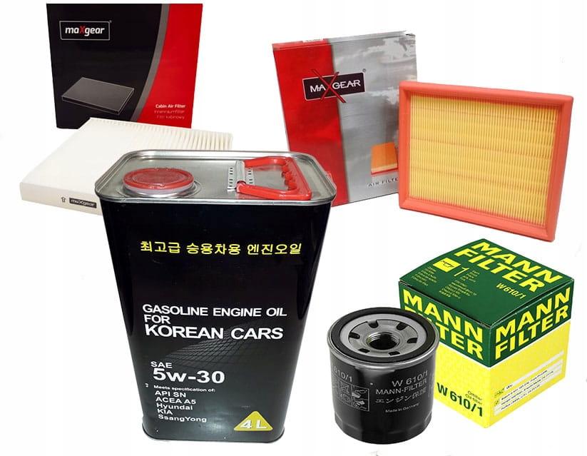 Zestaw filtrów Suzuki Ignis II (MH) 1.3 1.5 +olej